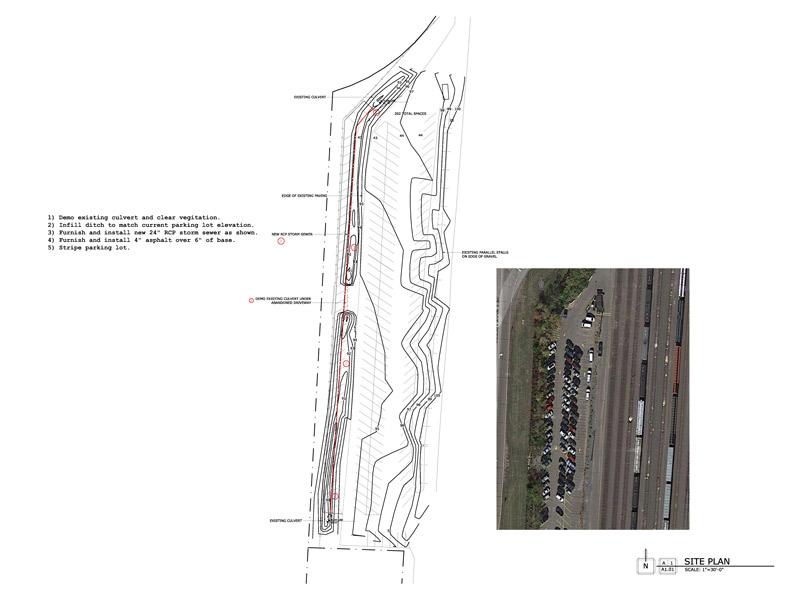 BNSF Parking Lot Expansion - Ayars & Ayars