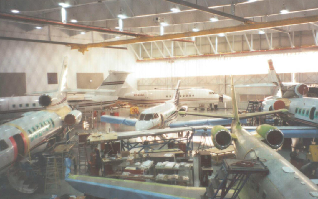 Duncan Aviation Hangar Modifications