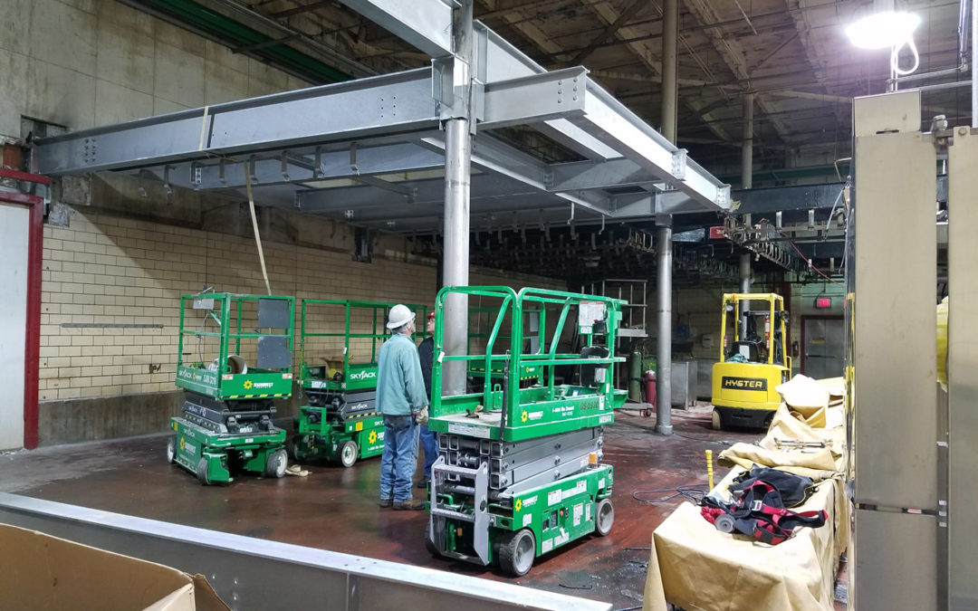 Smithfield Foods – Meat Rail Beam Replacement