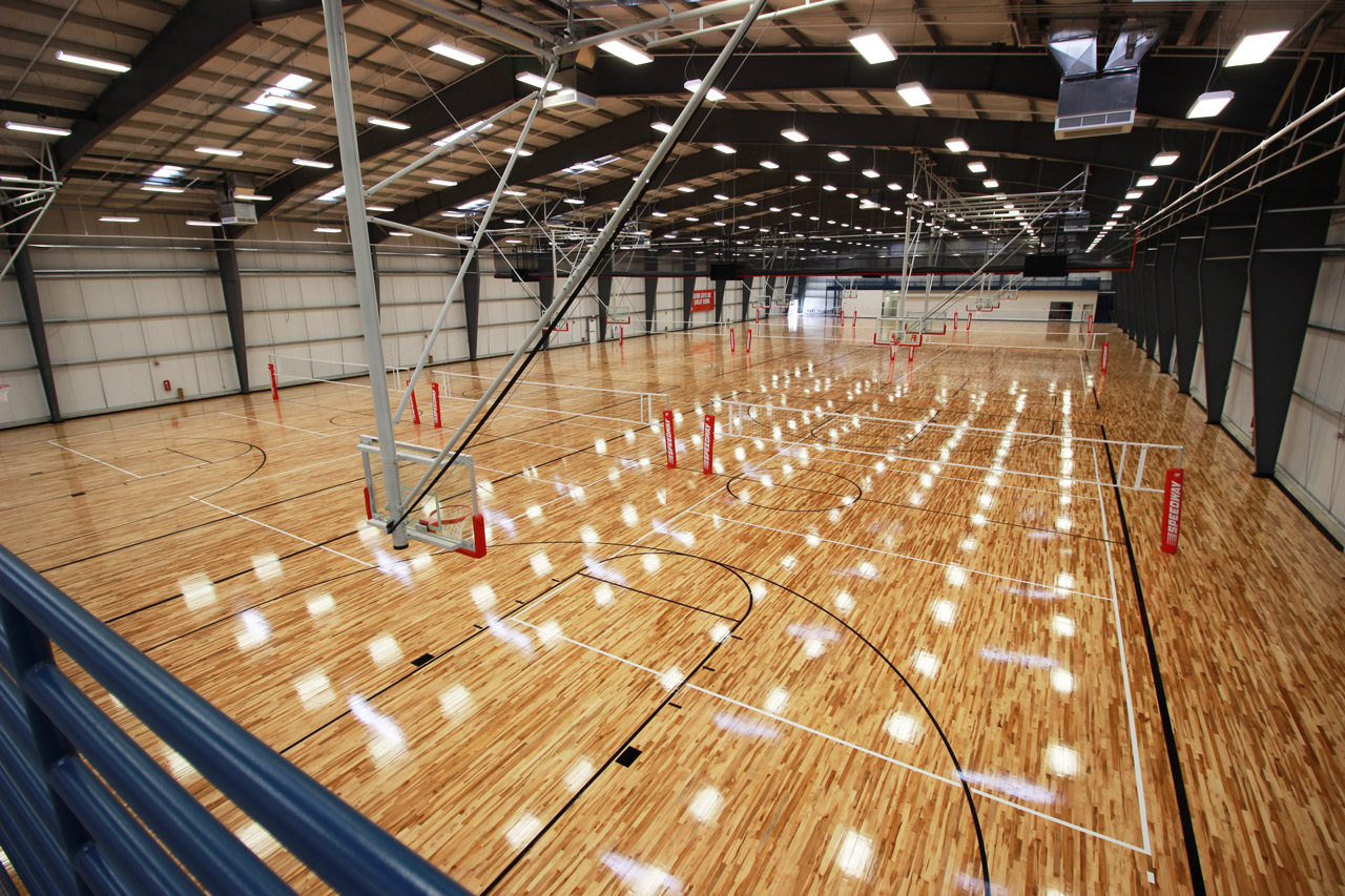 Speedway Sporting Village Basketball Volleyball Courts Ayars Ayars Lincoln Ne Construction Design Build Leaders