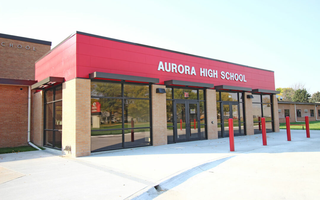 Aurora Public Schools – HS Entrance & MS Music Addition & Remodel
